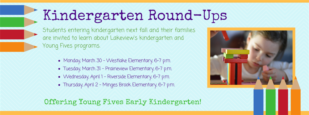 Kindergarten Open House Dates